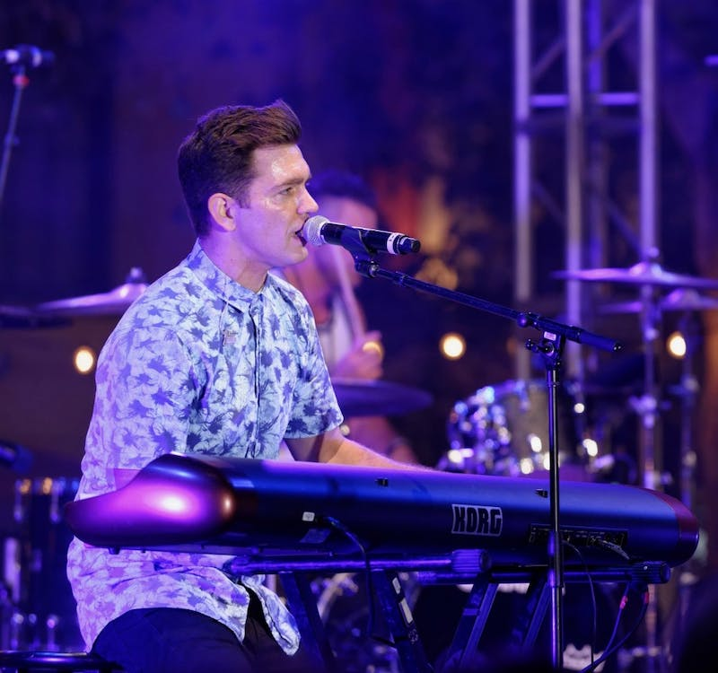 Andy Grammer at The Grove L.A.
