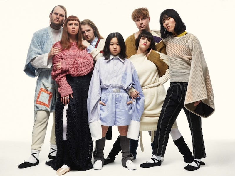 Superorganism is based in London, but includes members from England, Japan, South Korea, Australia and New Zealand.