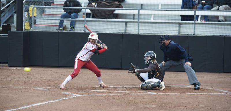 Freshman utility player Kelsey Jenkins carried Wisconsin's offense against Illinois, hitting 7-of-11 in the series.