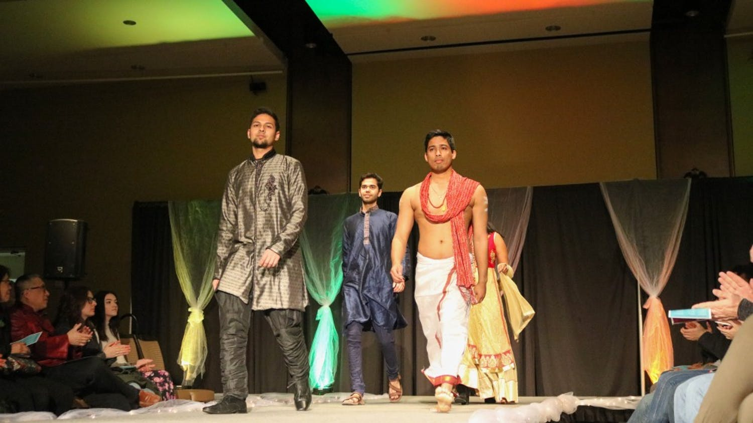 A diverse range of cultures were on display at the WUD Global Connections Multicultural Fashion show on Sunday.