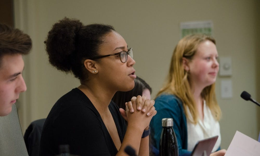 Repeatedly, representatives debated what level of involvement in ASM warranted a salary, and voiced concern that if positions weren't paid they wouldn't be accessible to students who need a paying job to support themselves.