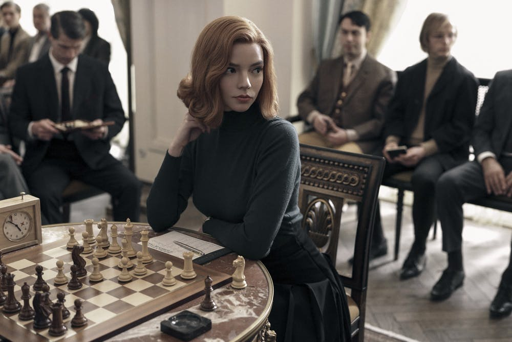 "<p>Anya Taylor Joy stars as chess prodigy Beth Harmon in Netflix mini-serires ""The Queen's Gambit.""&nbsp;</p>"