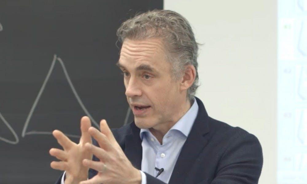 Jordan Peterson, a psychology professor and author, spoke at UW-Madison Thursday.