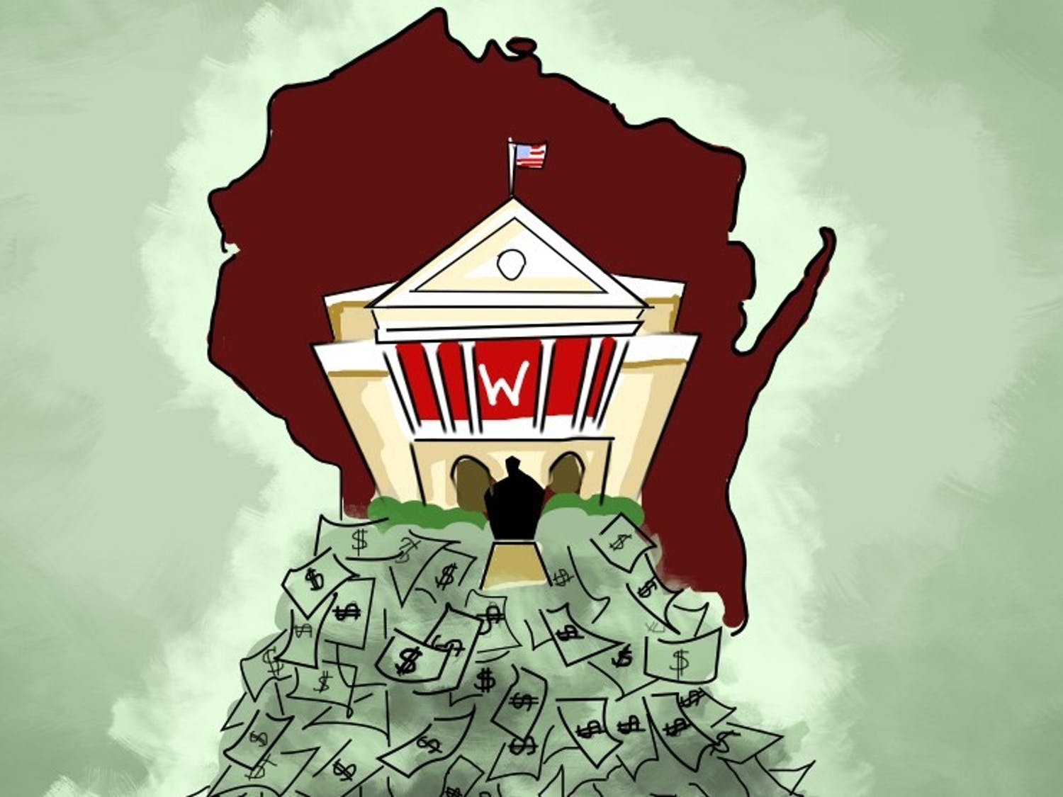 UW System's tumultuous funding history continues to be felt over a decade after the 2008 Great Recession.