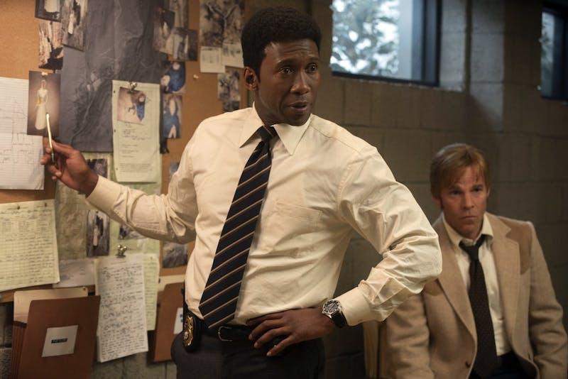 Mahershala Ali plays Wayne Hays and Stephen Dorff portrays Roland West; two Arkansas detectives.