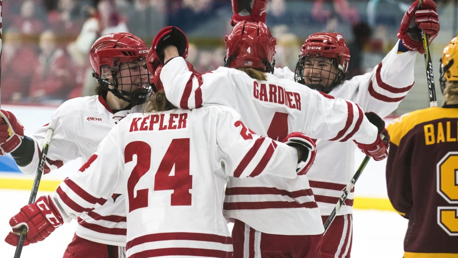 After winning the national championship last season, the Badgers have their sights set high again this year.