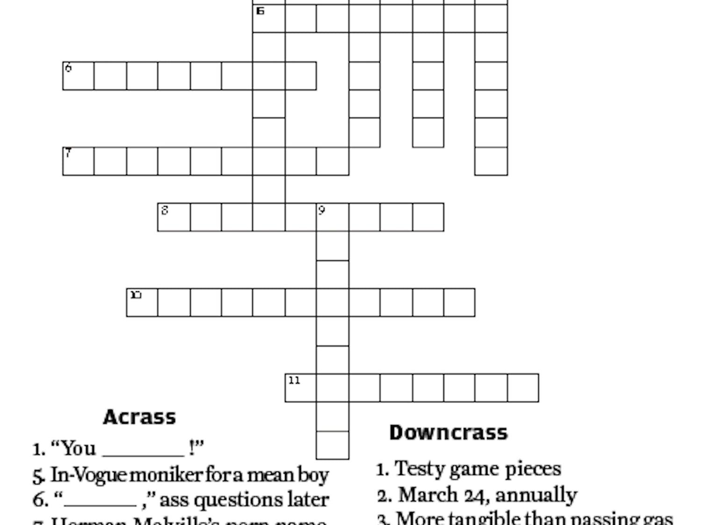 Crassword Puzzle