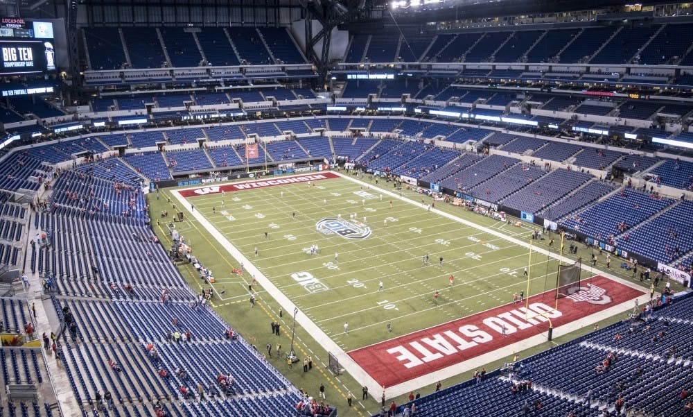 All contests in the fall, including the Big Ten Championship in Indianapolis, are cancelled.