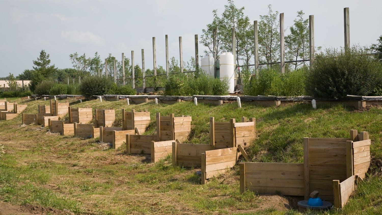Balster Lab Rain Garden testing facility, Verona, WI.