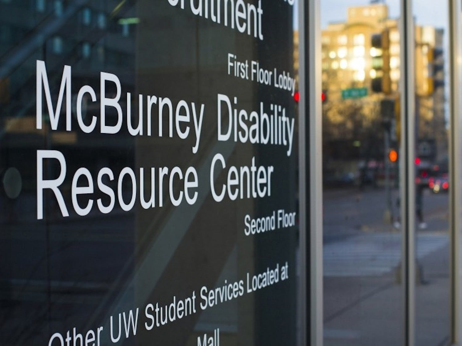 Many students who receive services from the McBurney Disability Resource Center require the use of laptops in class, which can lead to a lack of privacy in a class that does not allow the use of technology.