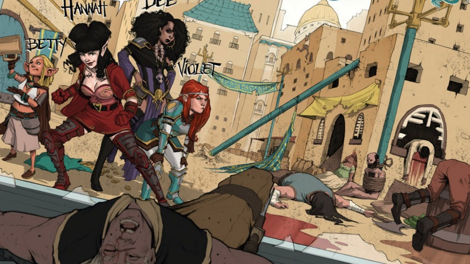 """""""Rat Queens""""revolves around a group of foul-mouthed female mercenaries."""