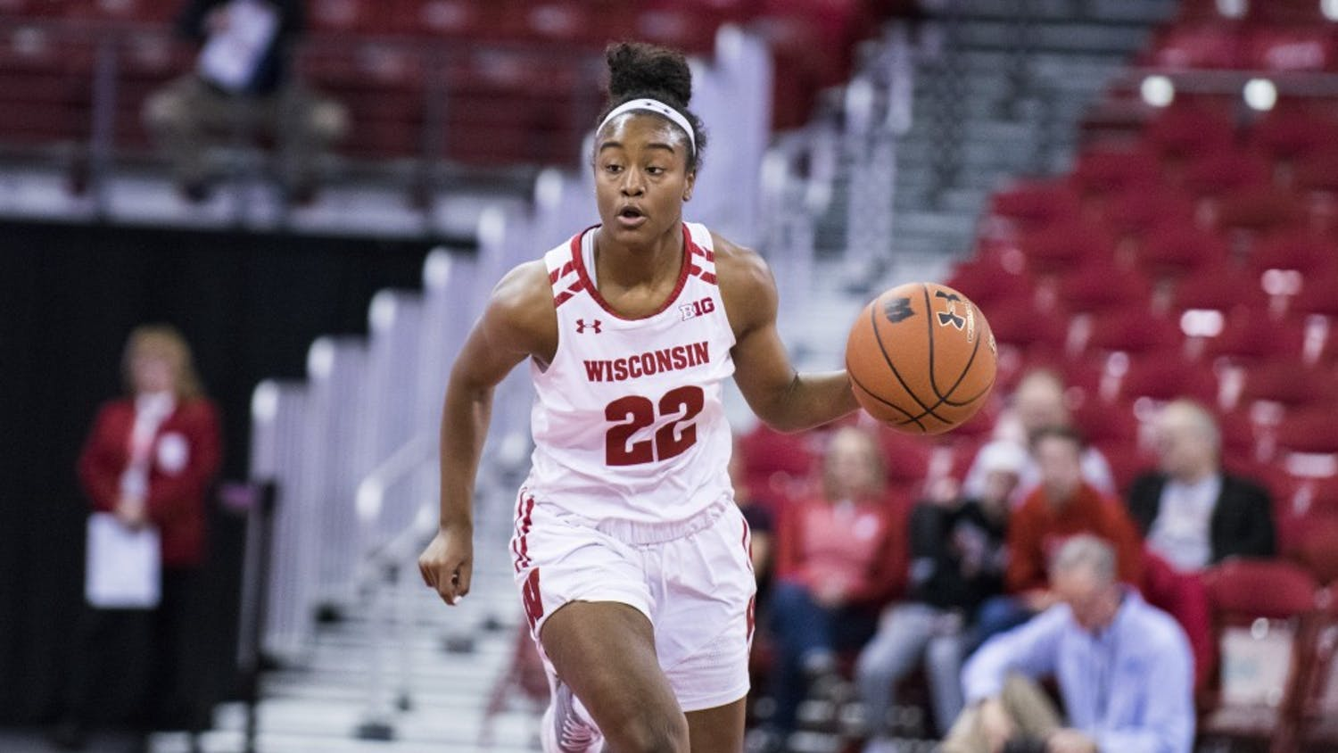 Niya Beverely recorded 10 points and six assists in UW's 71-55 first round win over Illinois, contributing to the team's season-high 22 assists in the game.
