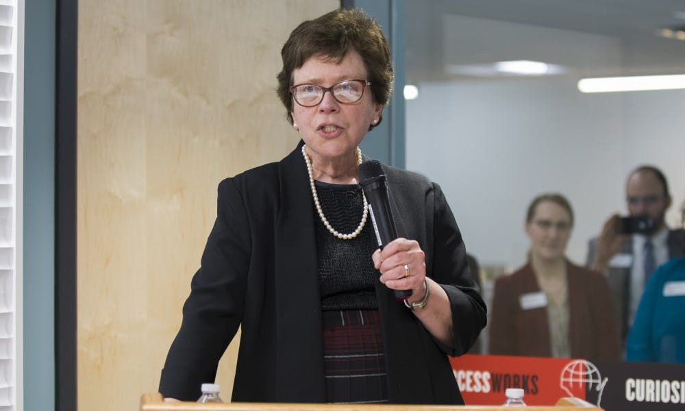 Chancellor Rebecca Blank has been appointed to the NCAA Board of Governors.