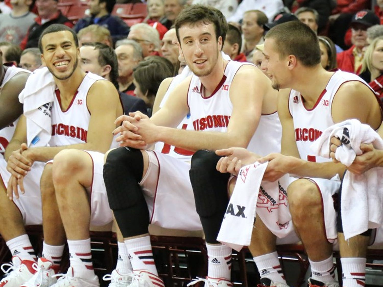 The Wisconsin Badgers defeated North Dakota 103-85. Frank Kaminsky beat a school record by scoring 43 points in a single game.
