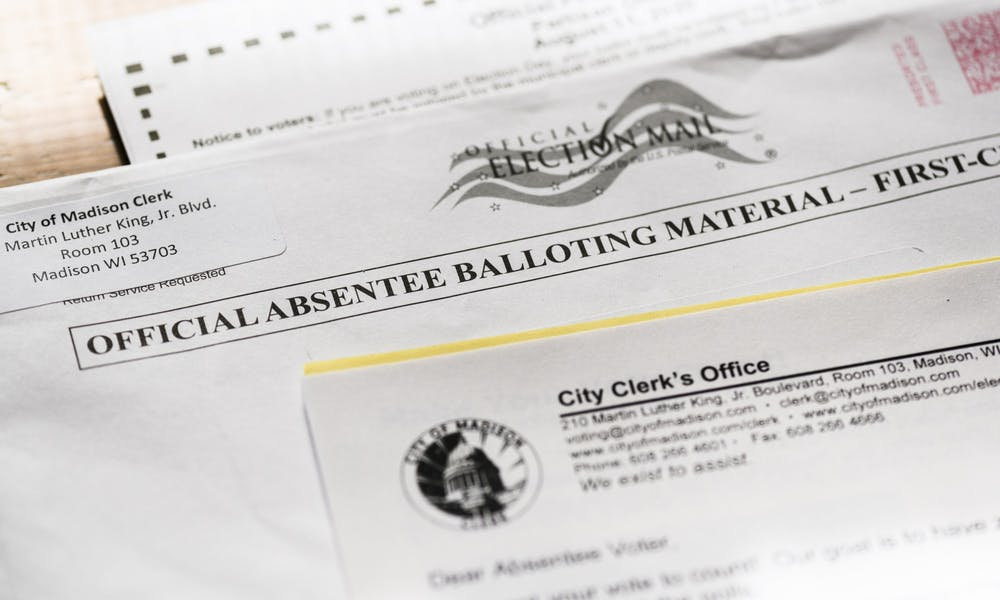 <p>Almost two million absentee ballots have been cast in Wisconsin as the state figures to play a pivotal role in the 2020 presidential election.&nbsp;</p>