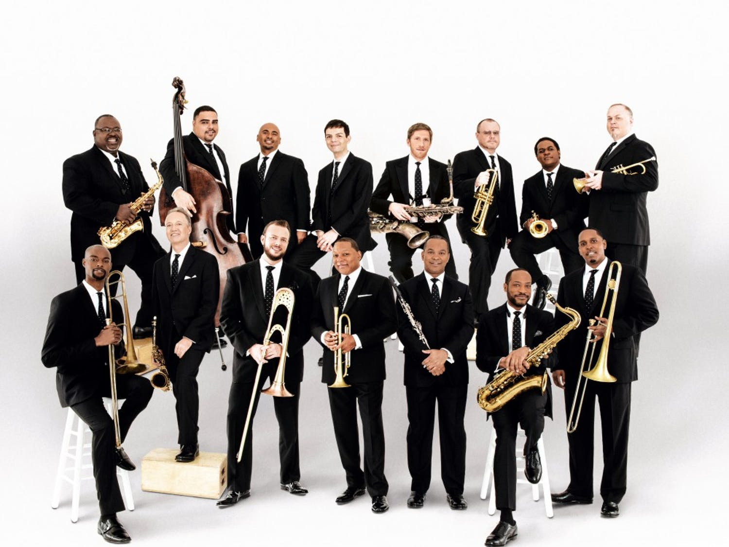 Wynton Marsalis and the Lincoln Center Jazz Orchestra created a masterful, fluid sound.