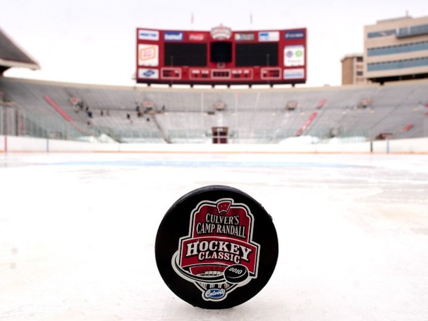 Out in the cold: Classic trades stadium turf for temporary ice