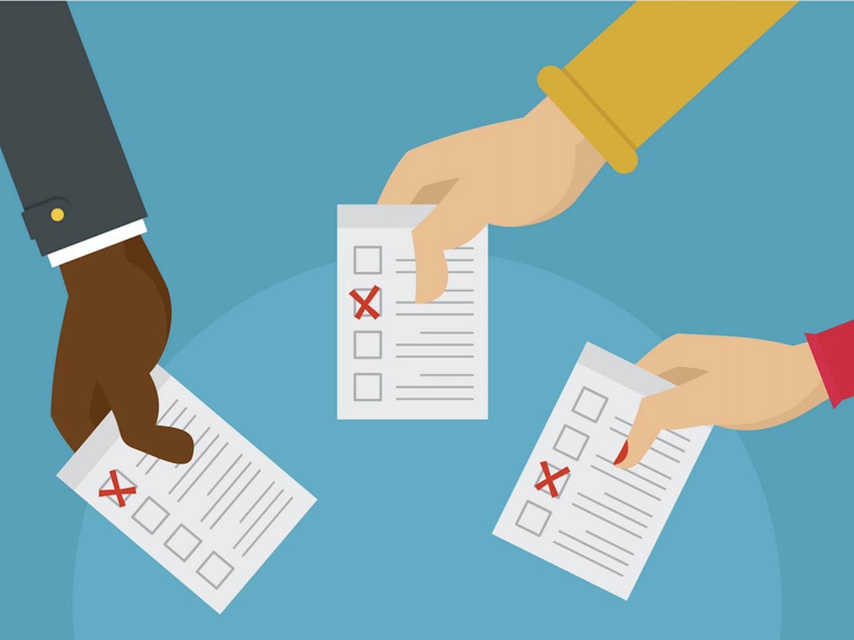 Voting animation