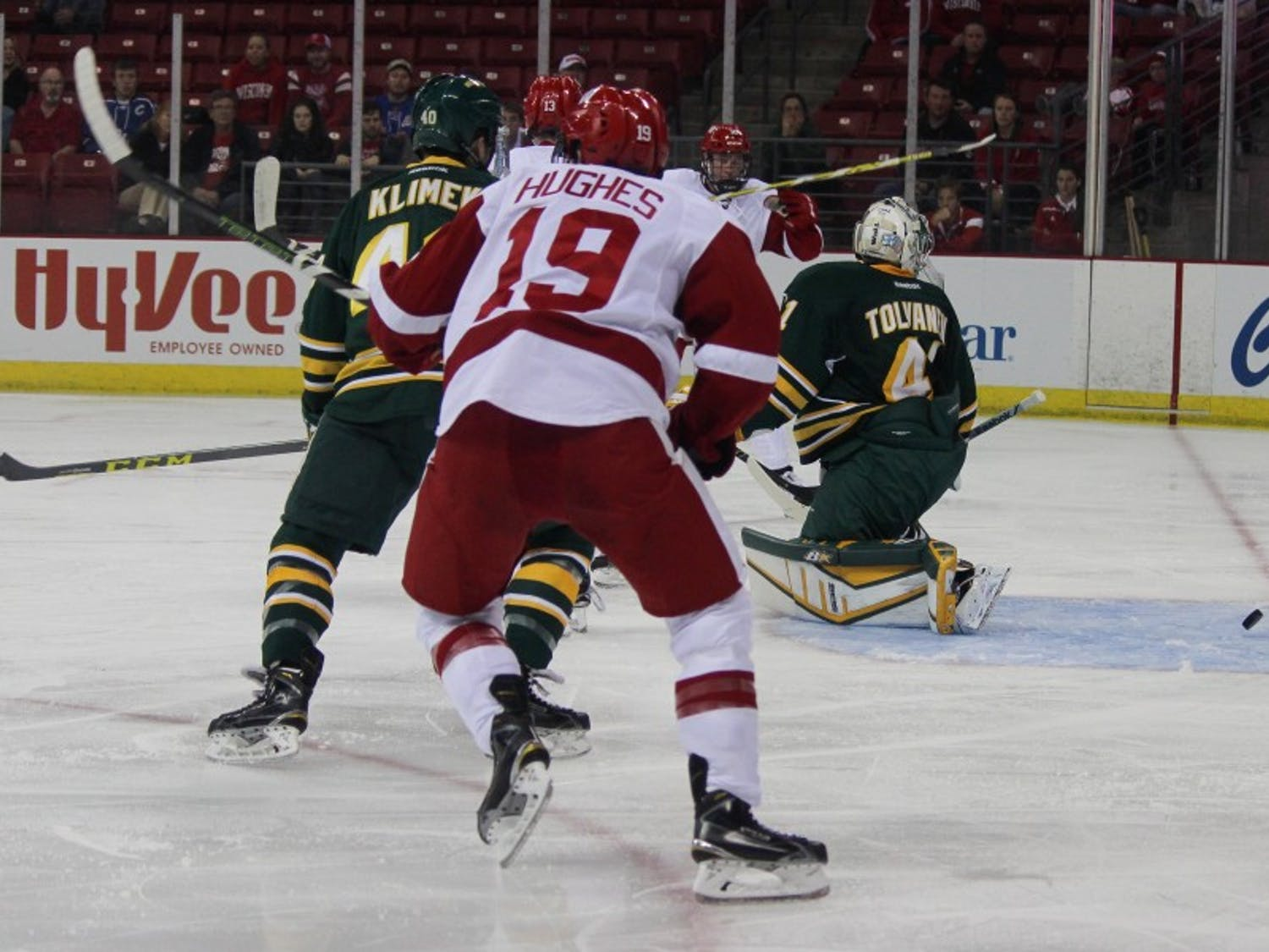 Cameron Hughes netted a game-winner in overtime on one of the biggest stages in sports.