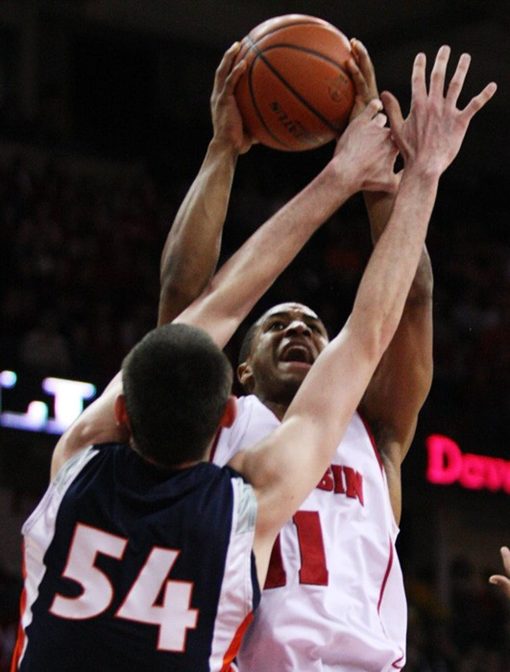Badgers go cold late, suffer first home loss