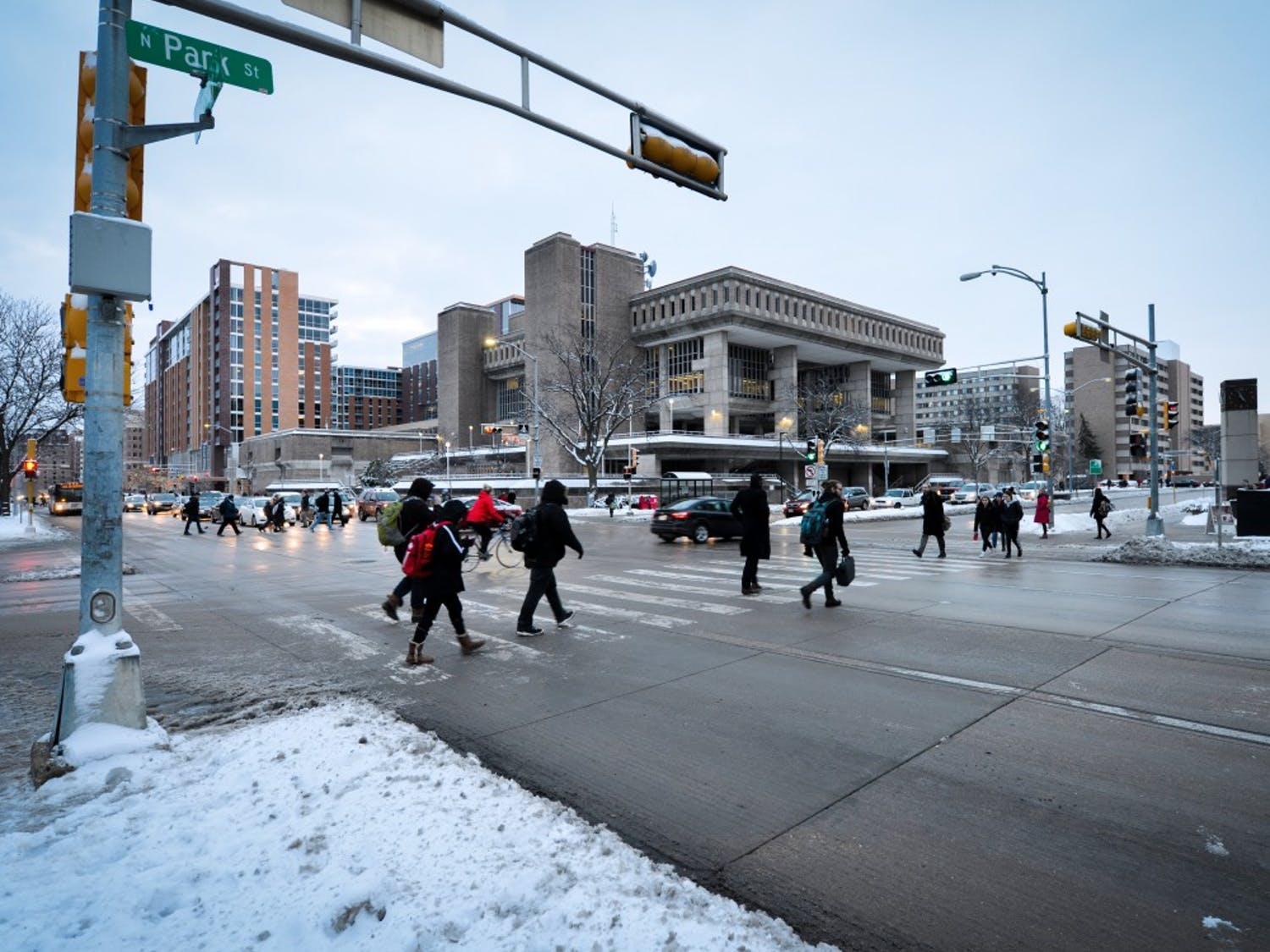 Both pedestrian and bicycle crashes are up from 2014, according to an MPD report.
