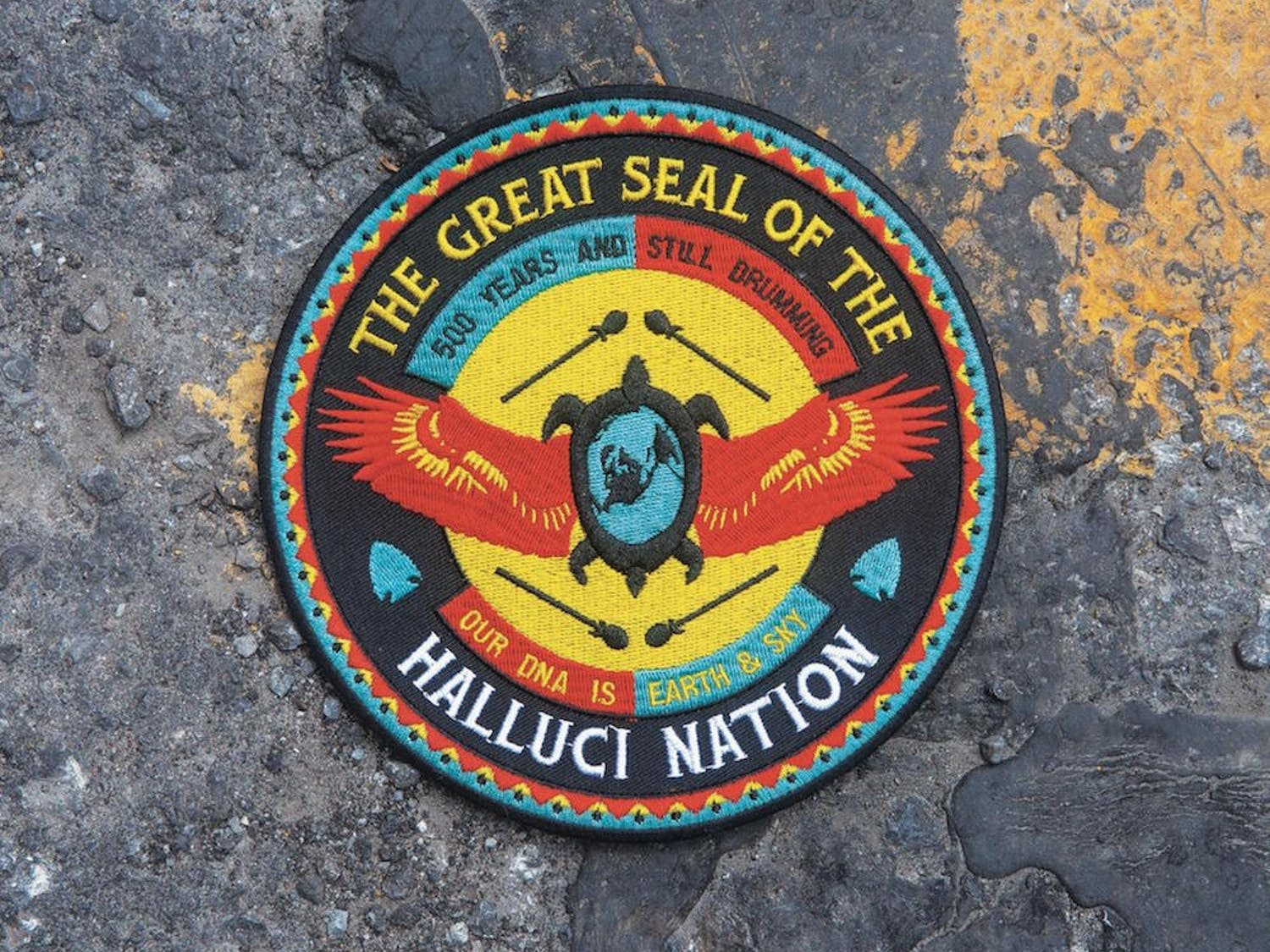 A Tribe Called Red's newest album We Are the Halluci Nation includes passages from Native American poet, John Trudell.