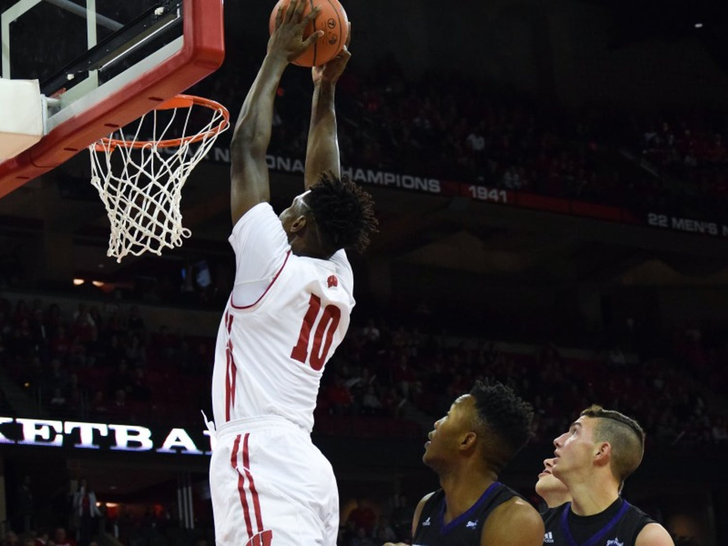 Nigel Hayes and the Badgers have lost three of four, and desperately need to get back on track.