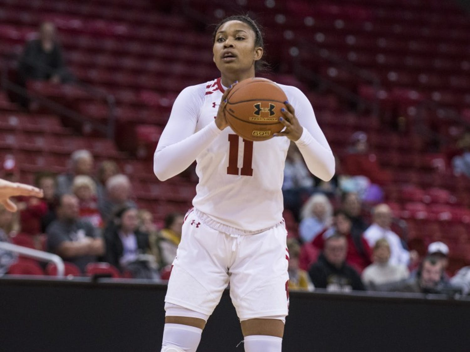 Senior forward Marsha Howard became the 26th Badger to reach 1000 points, but her ultimate goal is an NIT appearance for Wisconsin.
