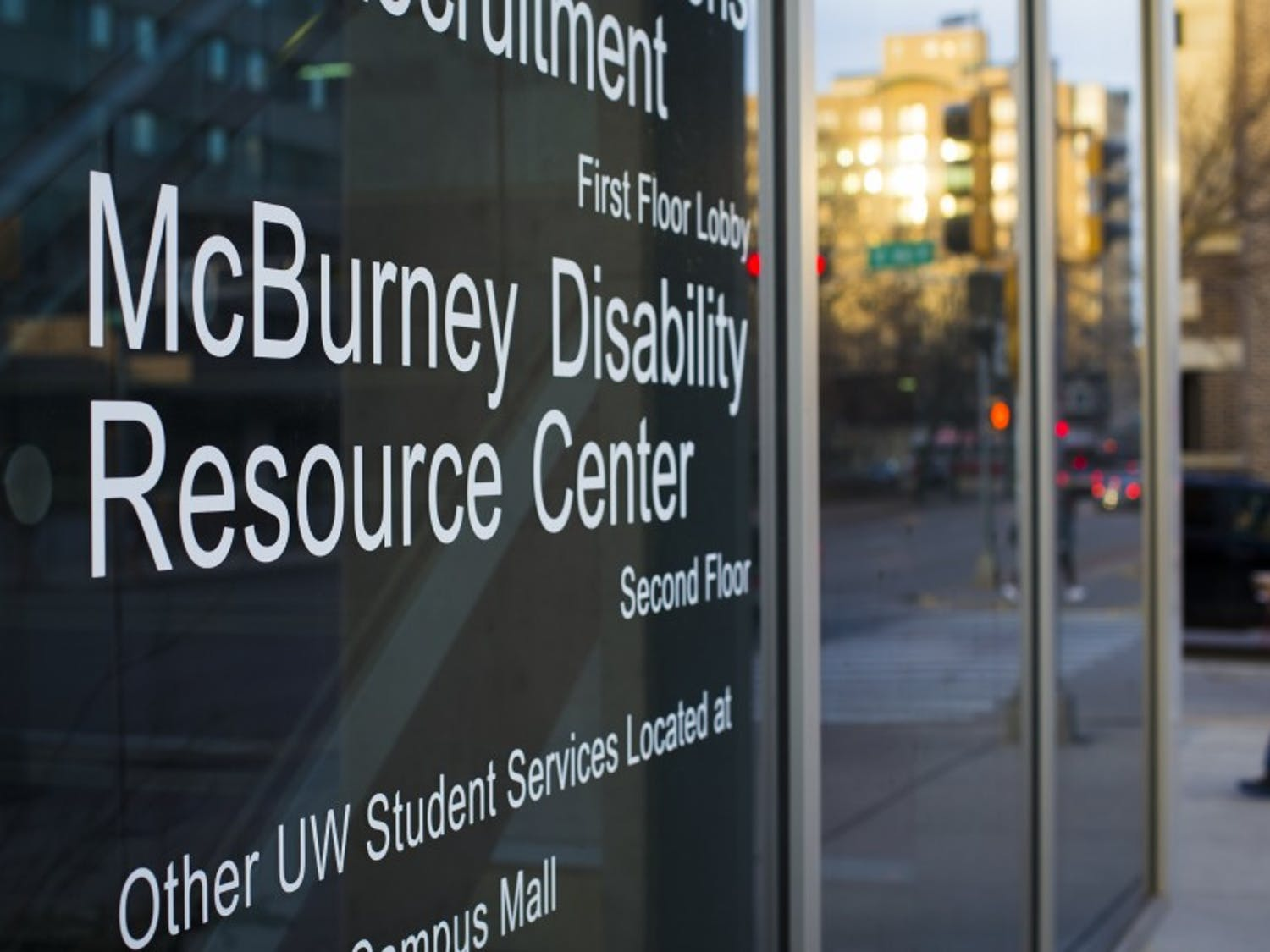 The McBurney Center provides accommodations for many students whose disabilities make the transition to college more difficult.