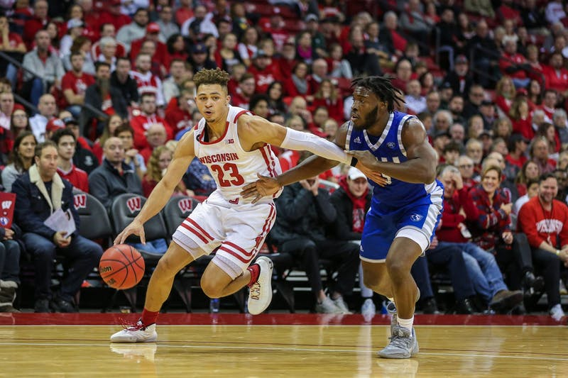 Kobe King dropped 24 against Indiana, propelling Wisconsin to a big win.