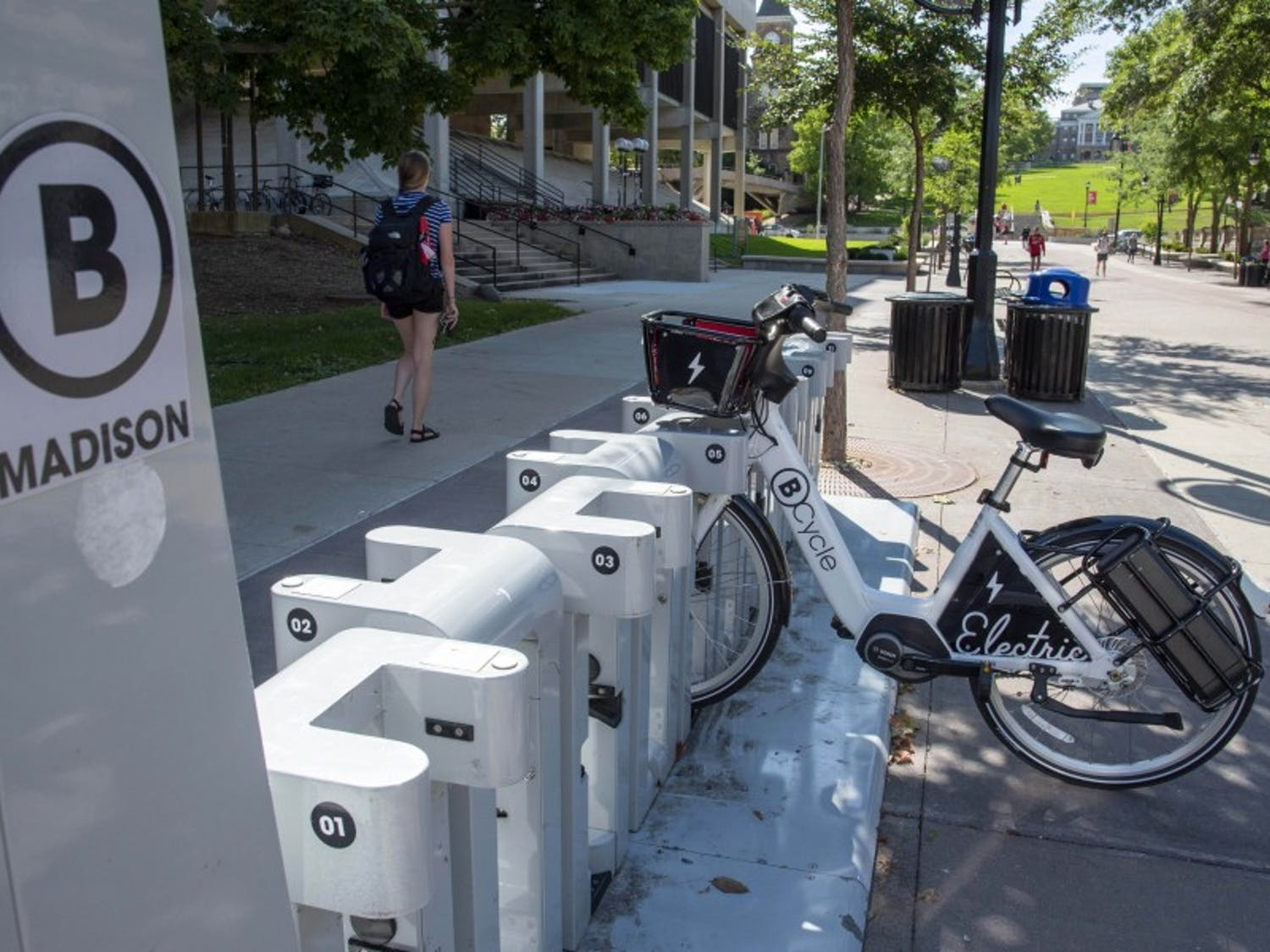 Students staying the summer in Madison express concerns about number of bikes and quality of the ride.