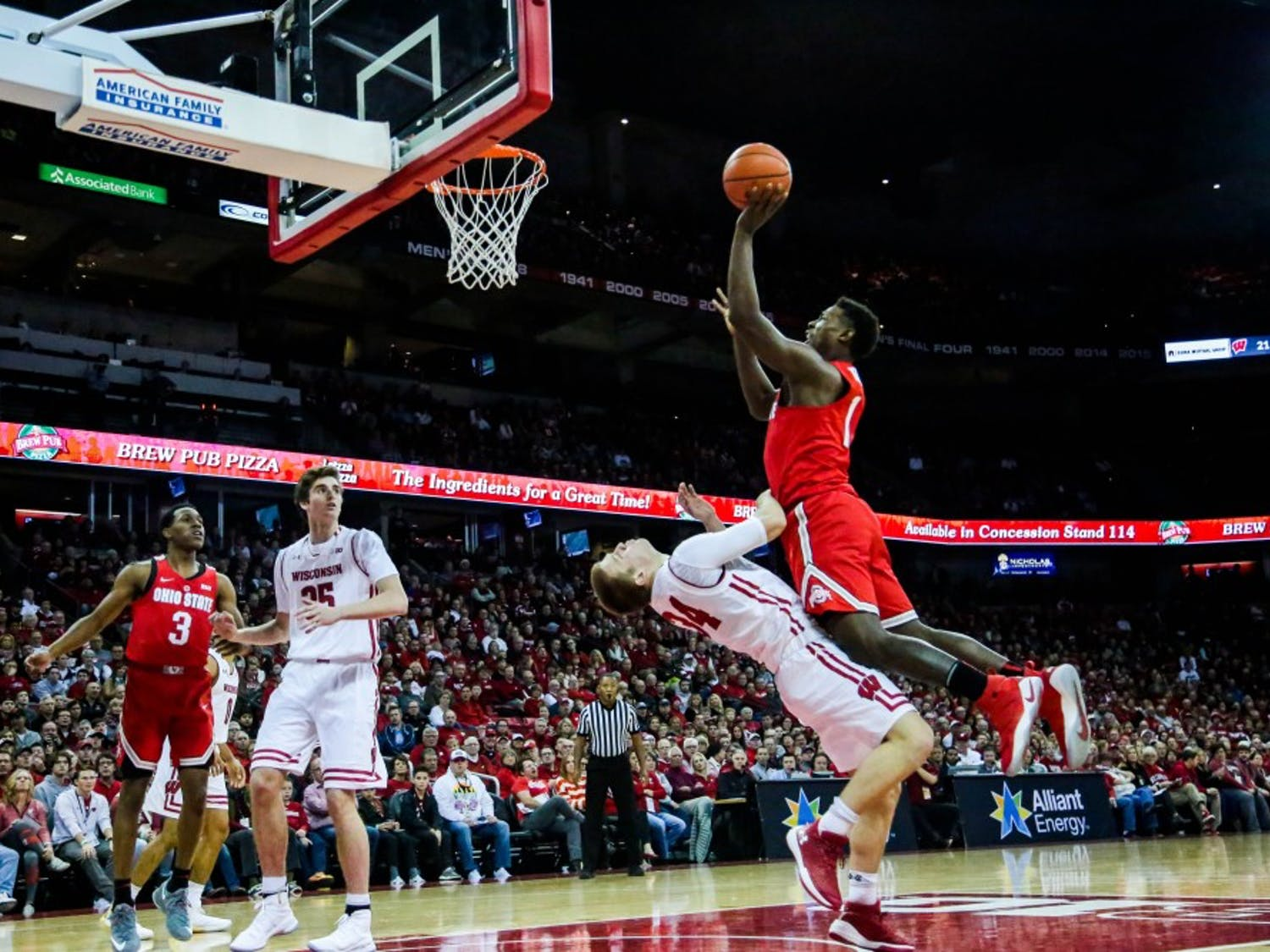 Ohio State dominated Wisconsin in UW's conference opener.