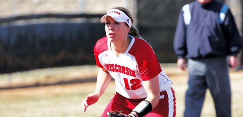 Senior third baseman Michelle Mueller, recently named USA Softball Player of the Week, has 10 home runs this season.