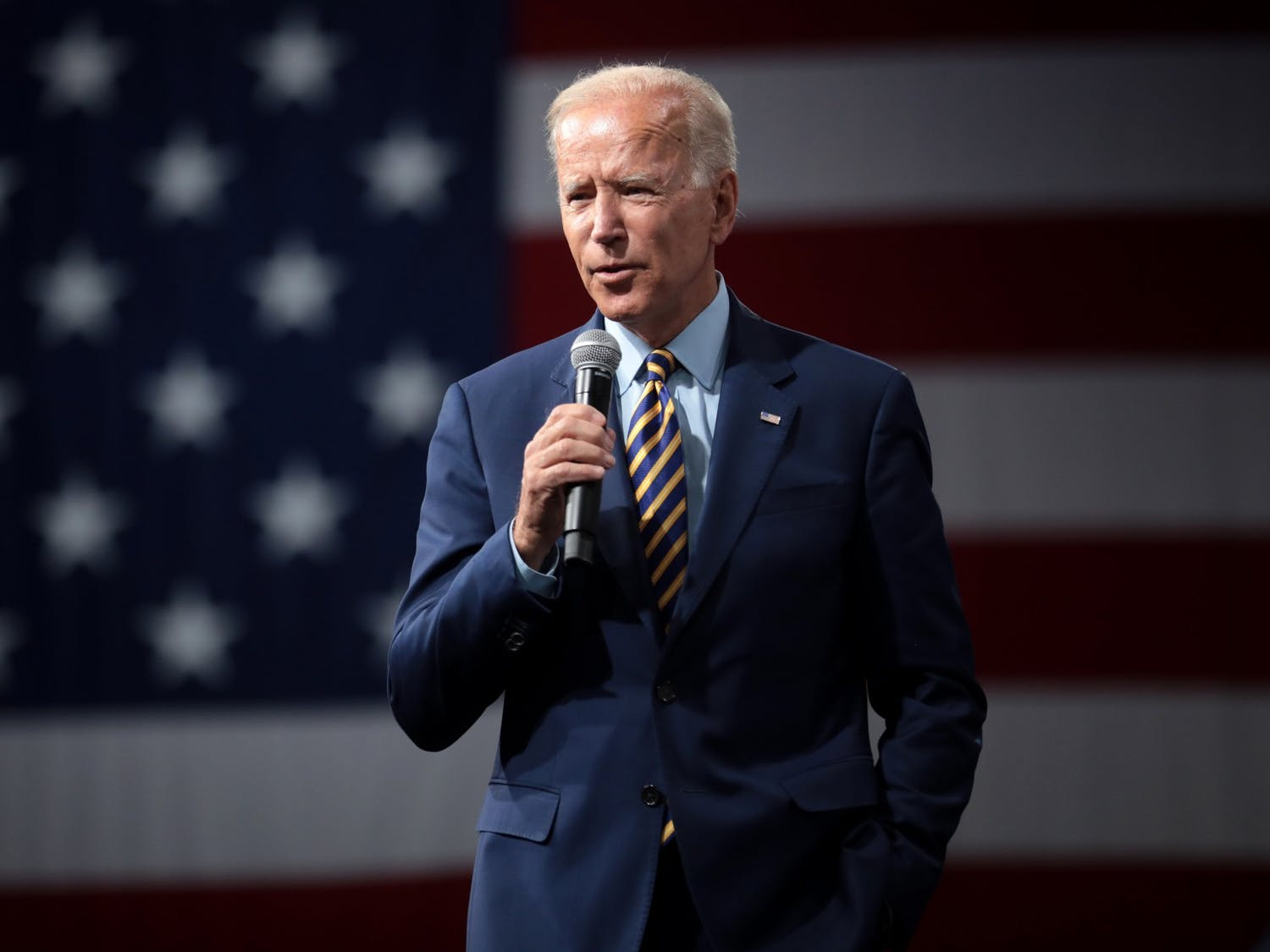 Democratic nominee Joe Biden traveled to Wisconsin for the second time to campaign in an area of the state that largely voted Republican in 2016.