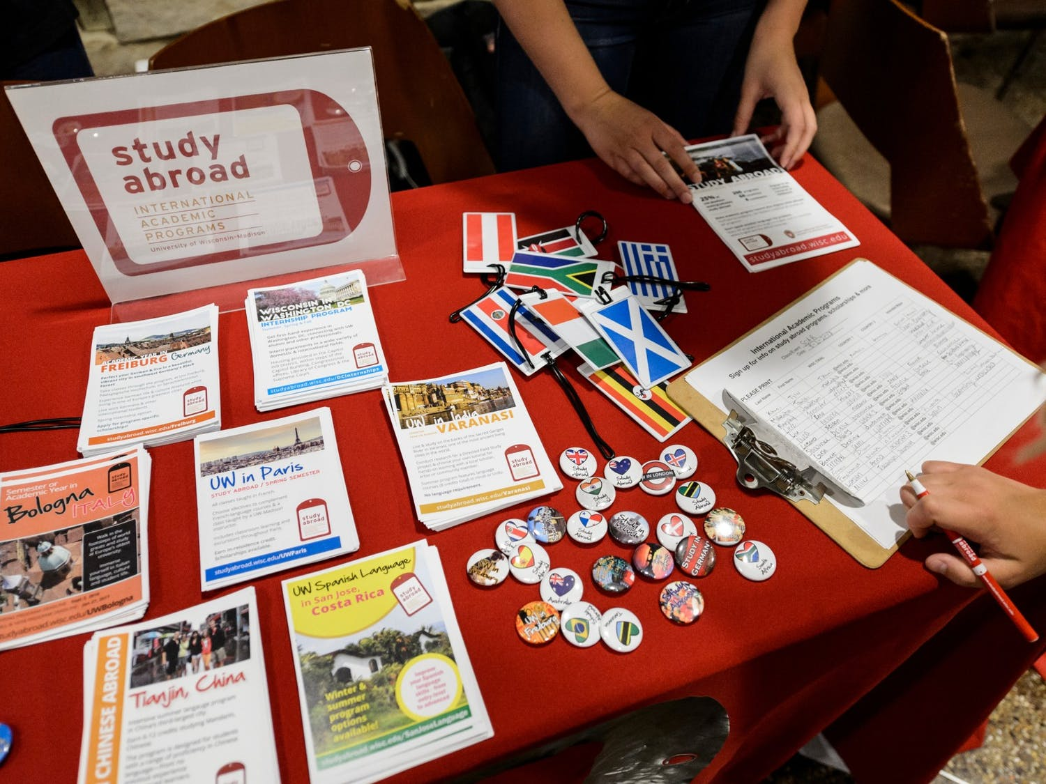 UW-Madison student abroad students in certain countries have been ordered to return home due to the COVID-19 outbreak, but can still complete their academic programs.
