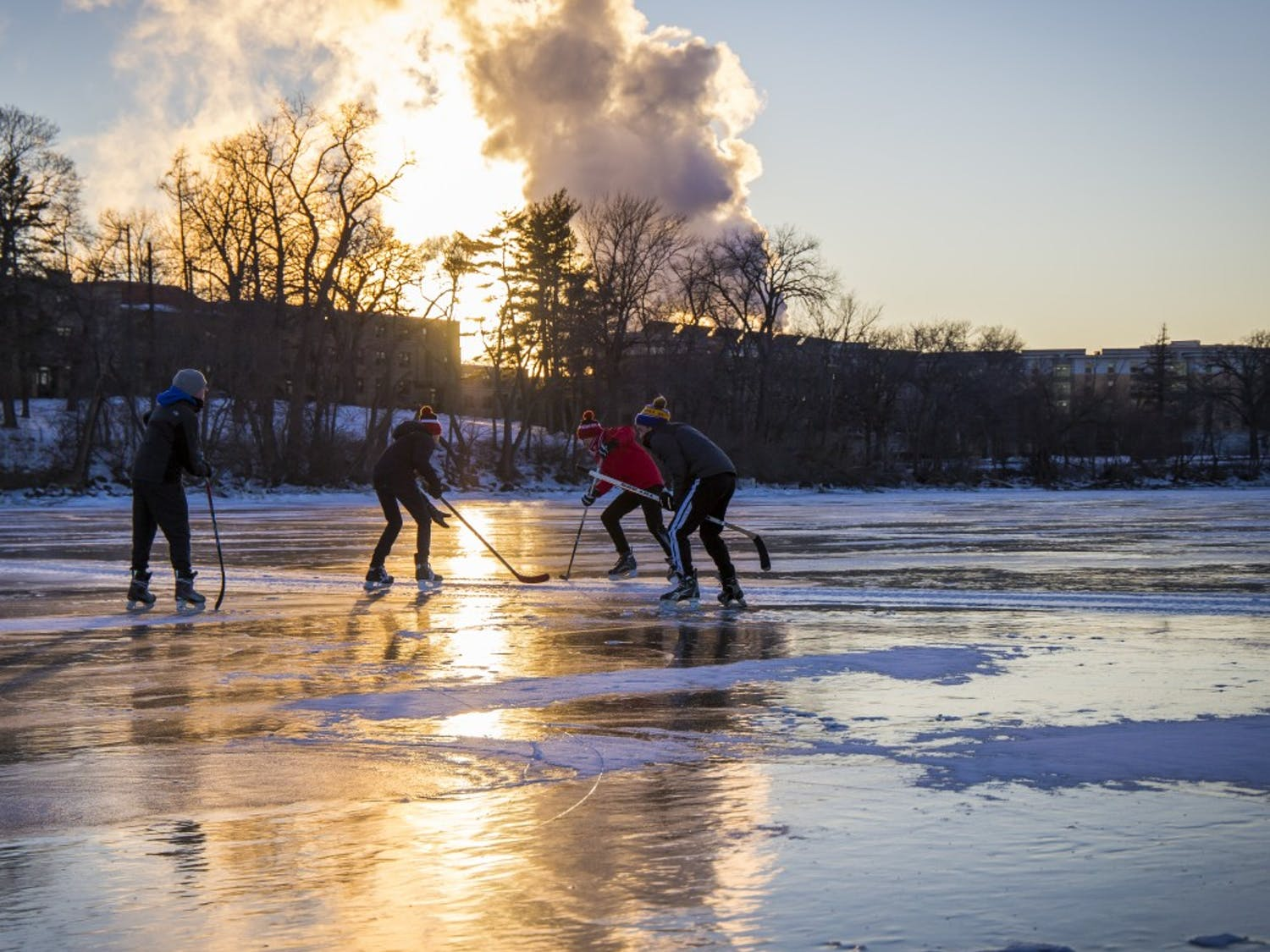 Daily Cardinal photographers capture the beauty of the UW-Madison campus during winter.