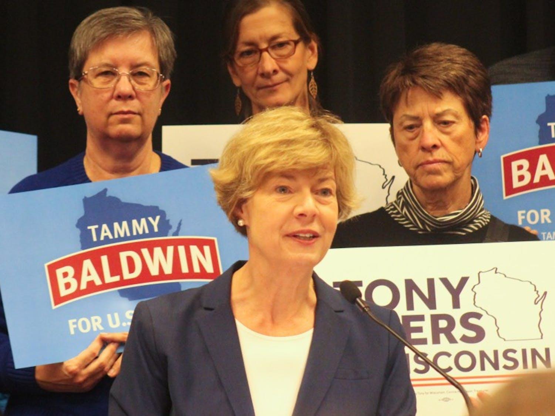 Wisconsin Senator Tammy Baldwin.