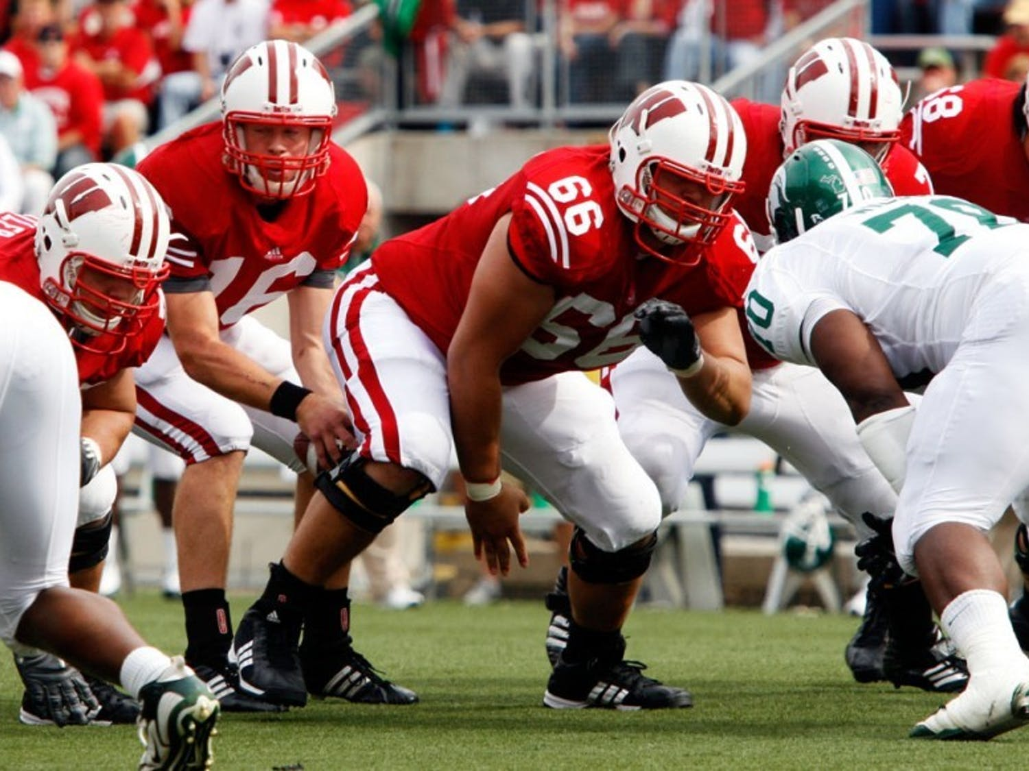 Early success fueled by strong offensive line