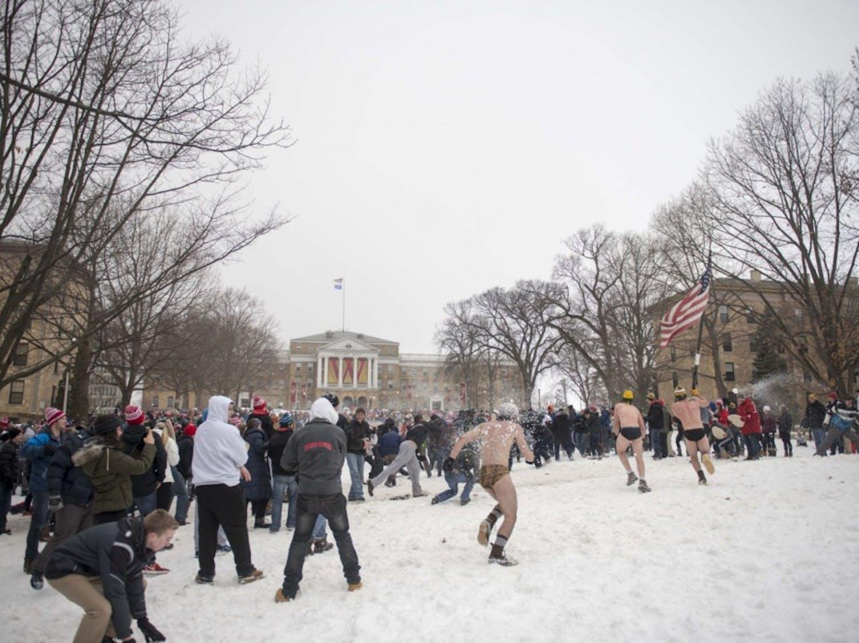 Bascom Snowball Fight