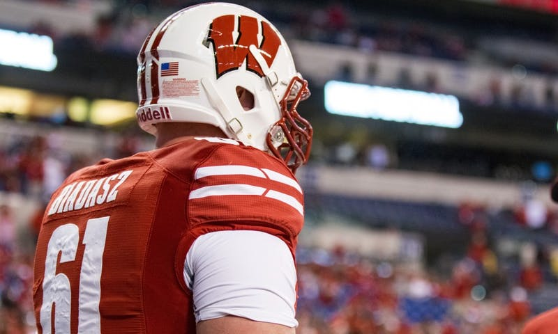 After participating in his first Badgers Fridays before playing Iowa, Tyler Biadasz vows to make it a regular occurrence.
