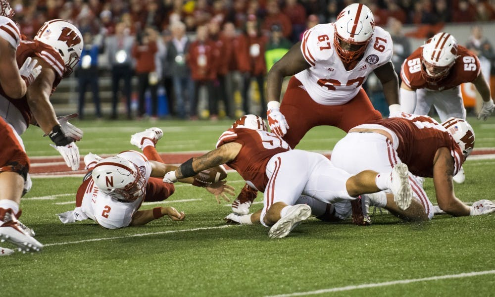 Outside linebacker Zach Baun has been the most productive linebacker for the Badgers early this year.