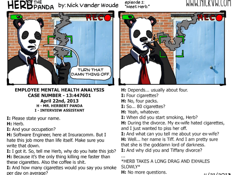Herb The Panda - 4/22/2013