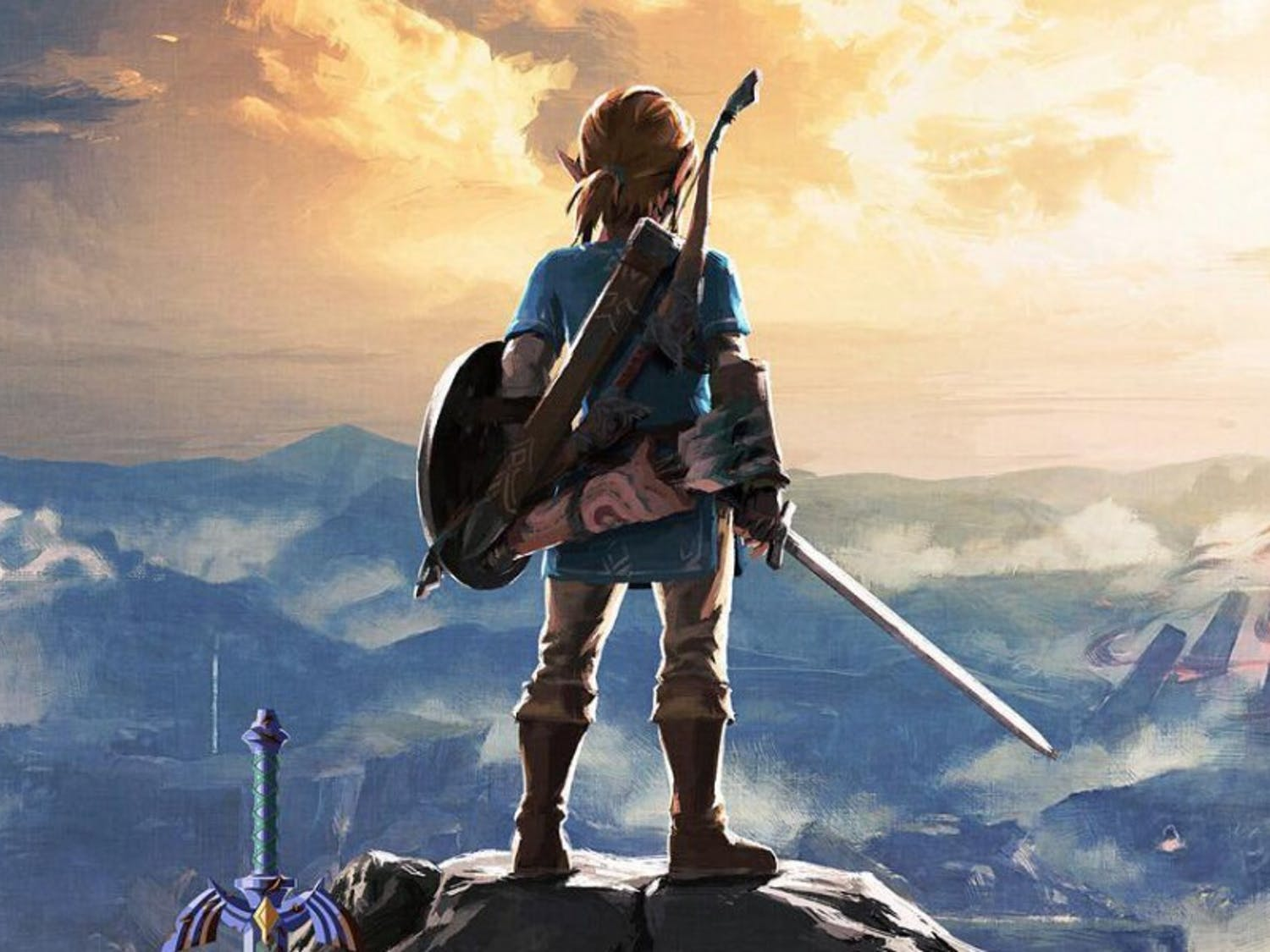 """""""Breath of the Wild"""" launchedin March alongside the Nintendo Switch."""