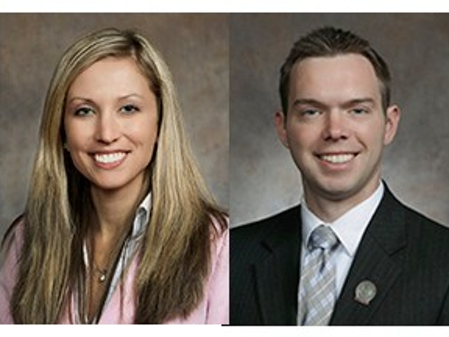 State Reps. Amanda Stuck, D-Appleton (left)and Adam Neylon, R-Pewaukee, (right) are the heads of a new millennial caucus created to work across the aisle on modern issues.