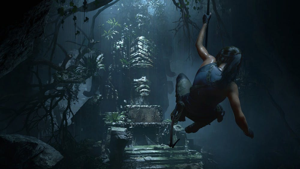 Lara Croft Stumbles In Shadow Of The Tomb Raider The Daily