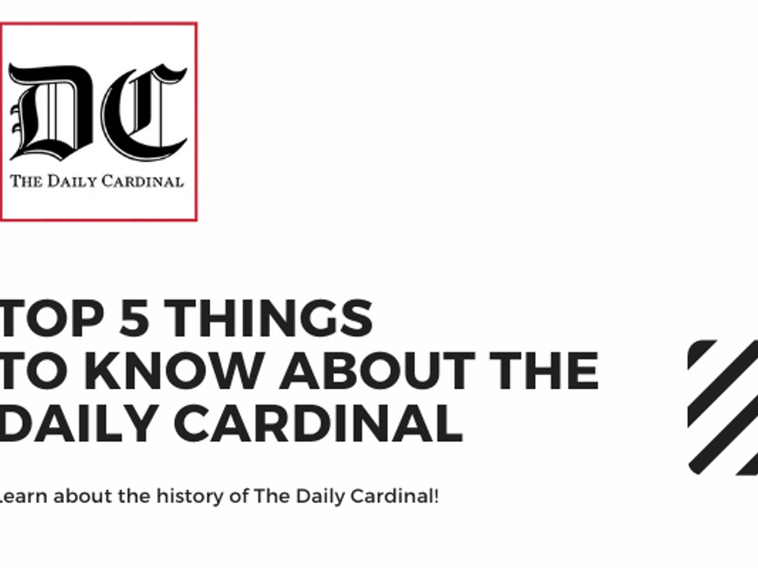 Top 5 Things To Know About The Daily Cardinal Header