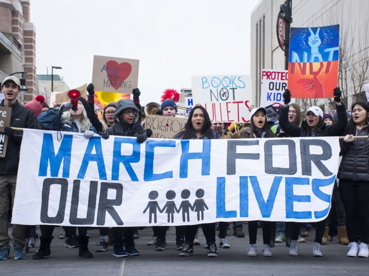 The March For Our Lives was just one of many historic events in Madison this semester.