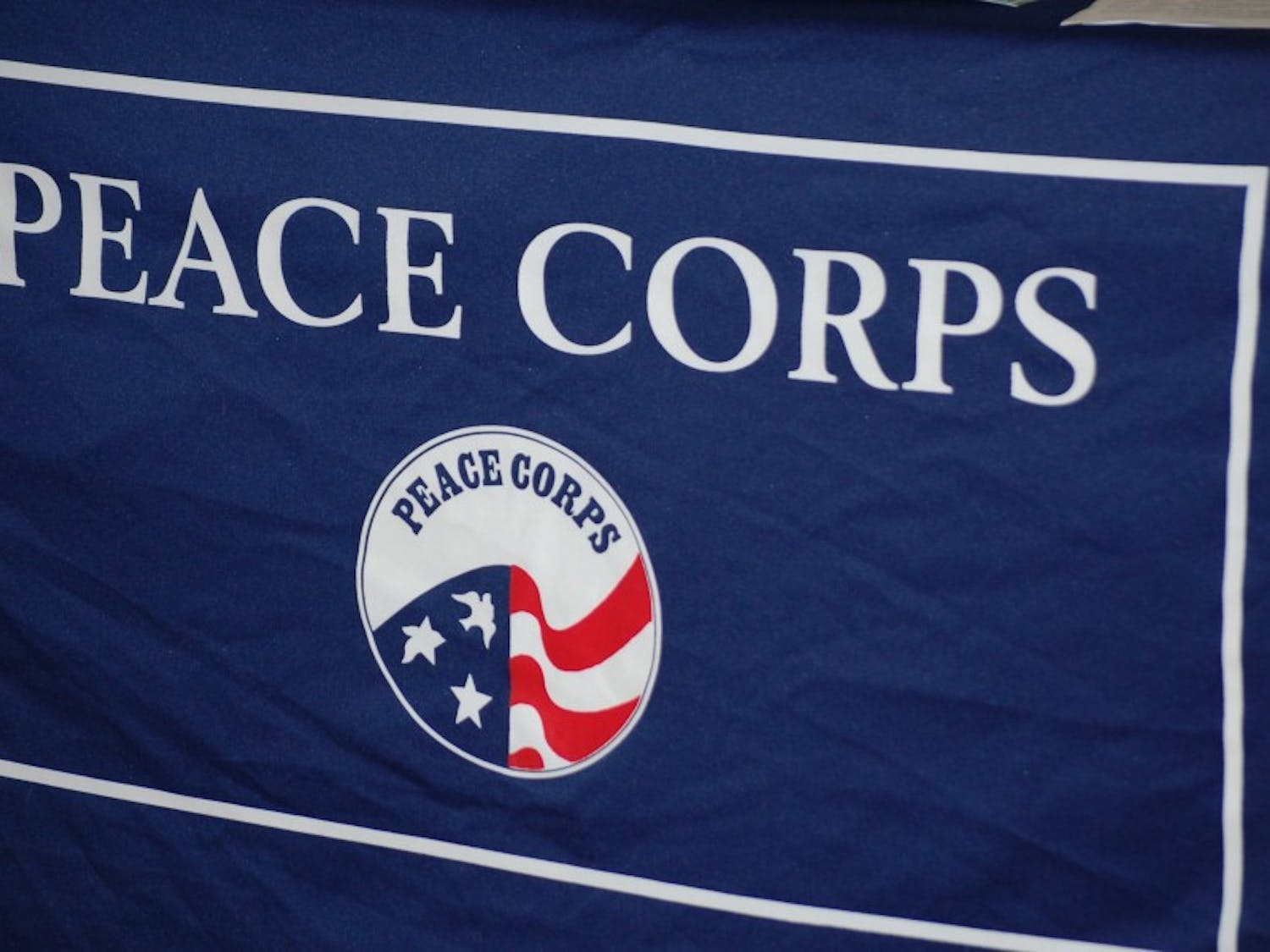 """Peace Corps Week began with """"A Peace Corps Tip or Two,"""" a discussion panel where prospective volunteers met with former volunteers to learn about service life abroad."""