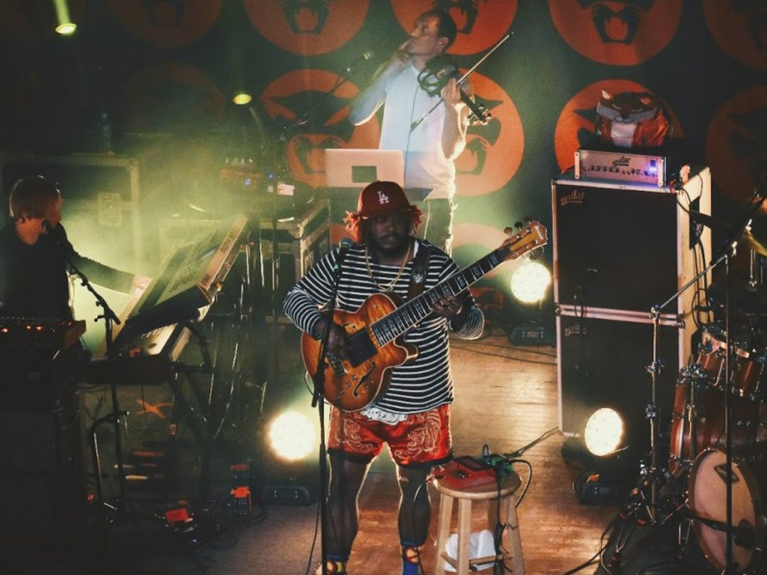 Thundercat gives an entertaining yet strange performance at the Majestic Theater on Tuesday.