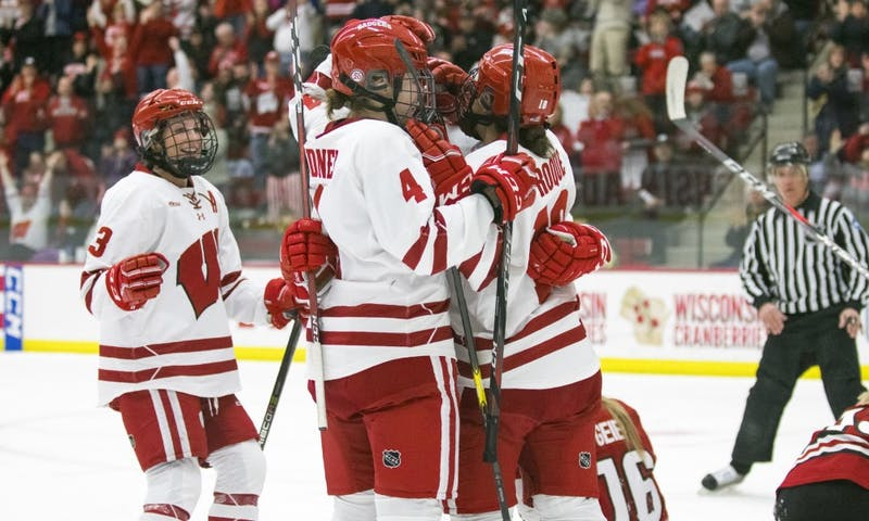 Wisconsin beat Minnesota for the third time in five tries to capture its fifth WCHA tournament title in six years.